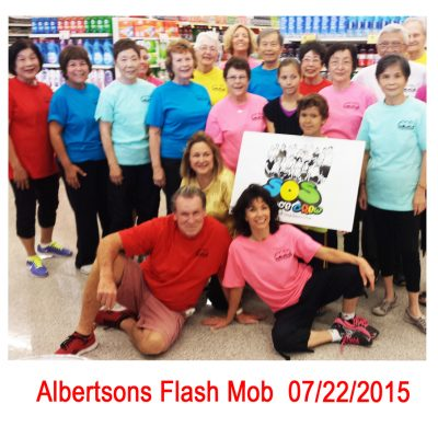 Feb 12, 2016 FLASH MOB at Albertson Grocery Store