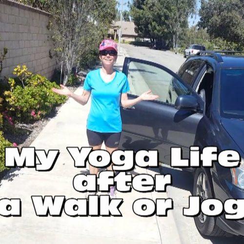 AFTER WALK OR JOG