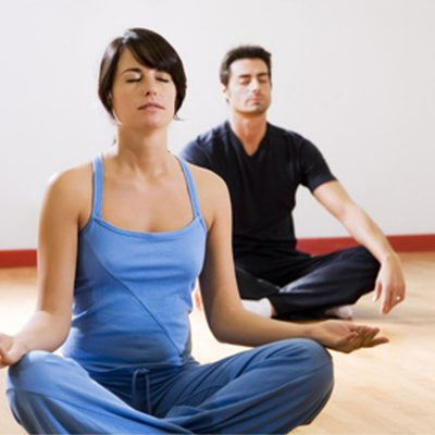 Meditation Lotus Pic 2 - man & woman 300 dpi